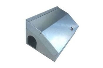 External Bait box for Rodenticide