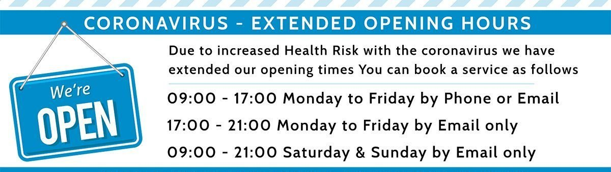 covid19-banner-opening-hours-owl Pest control Ireland