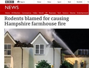 BBC-News-Rodents-blamed-for-causing-Hampshire-farmhouse-fire