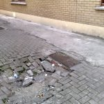 Ground subsidence due to rodent burrowing - Owl pest control Dublin