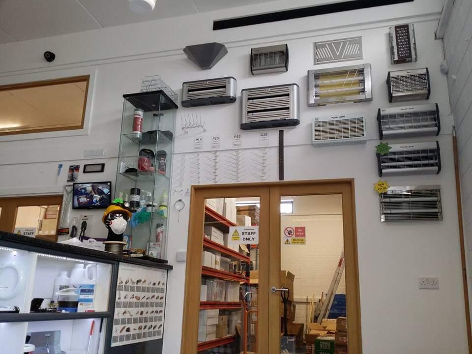 Visit our Trade Counter - Owl Pest Control Dublin